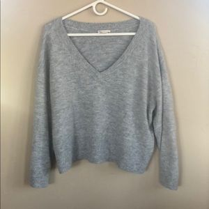 H&M Wide V-Neck Sweater